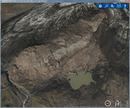 The 3D RealityMaps Viewer is essential in order to correctly detect the debris covered glacier margin